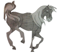 Mustang - manto 1000000101